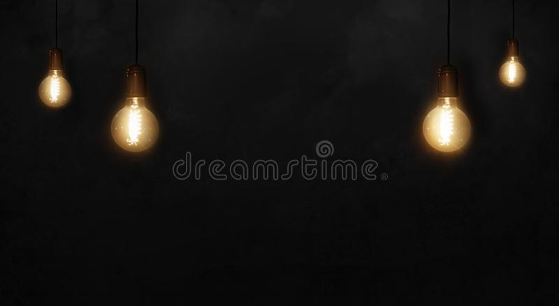 On a brick wall background retro light bulb stock illustration download on a brick wall background retro light bulb stock illustration illustration of bulbs aloadofball Image collections