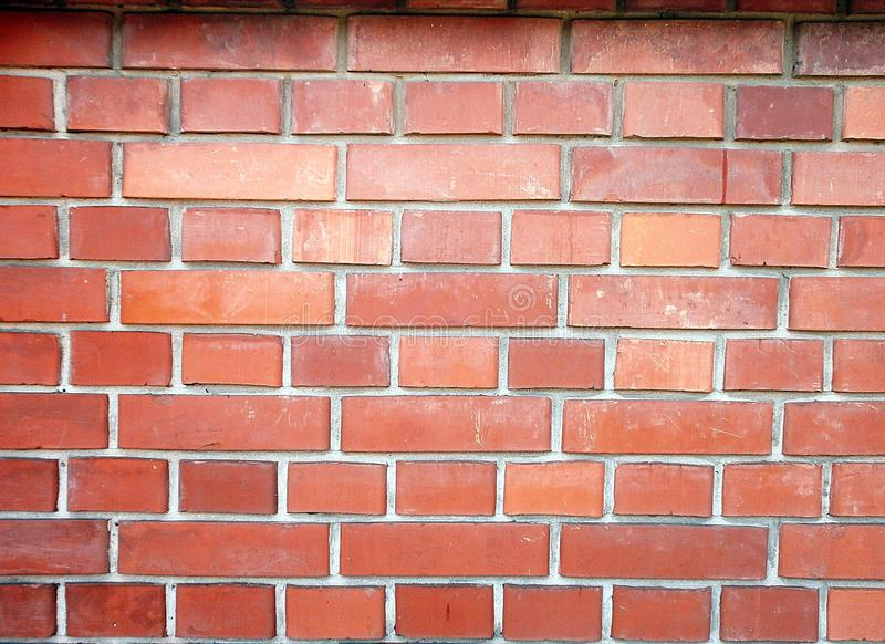 Brick wall background texture stock photo