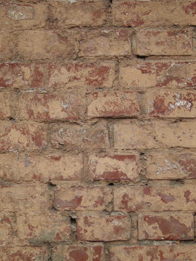 Brick wall background texture - stone wallpaper royalty free stock images