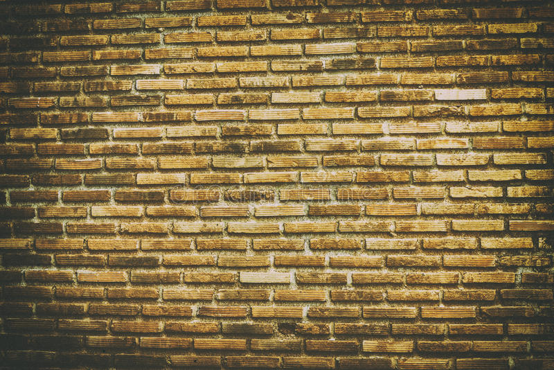 Brick wall background and textures. Vintage brick wall background and textures royalty free stock image