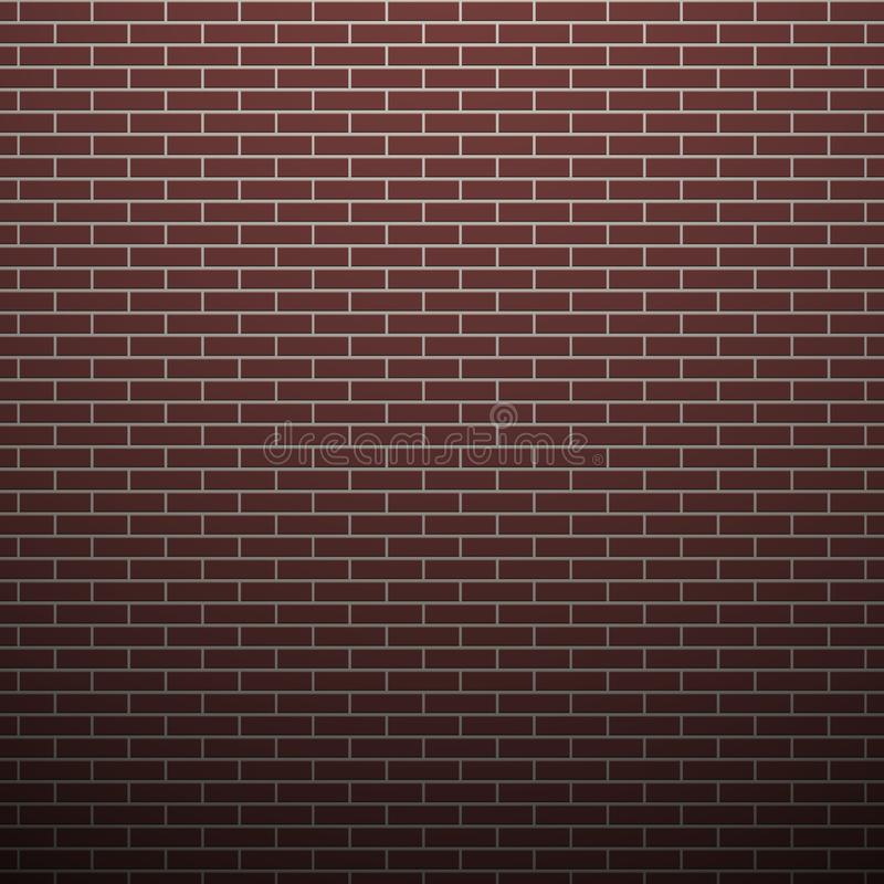 Brick wall background royalty free illustration