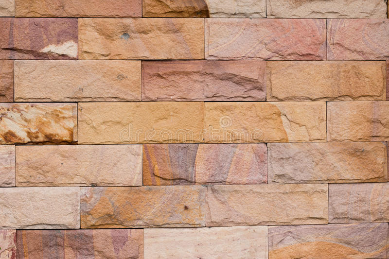 Brick wall. Brown ground textures royalty free stock images