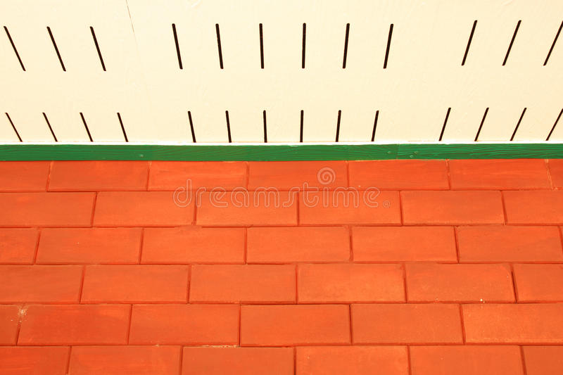 Brick wall and Ceiling royalty free stock images