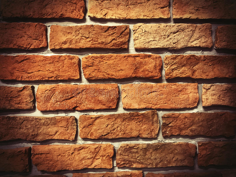 Brick wall. Detail Of Brick Wall red royalty free stock image