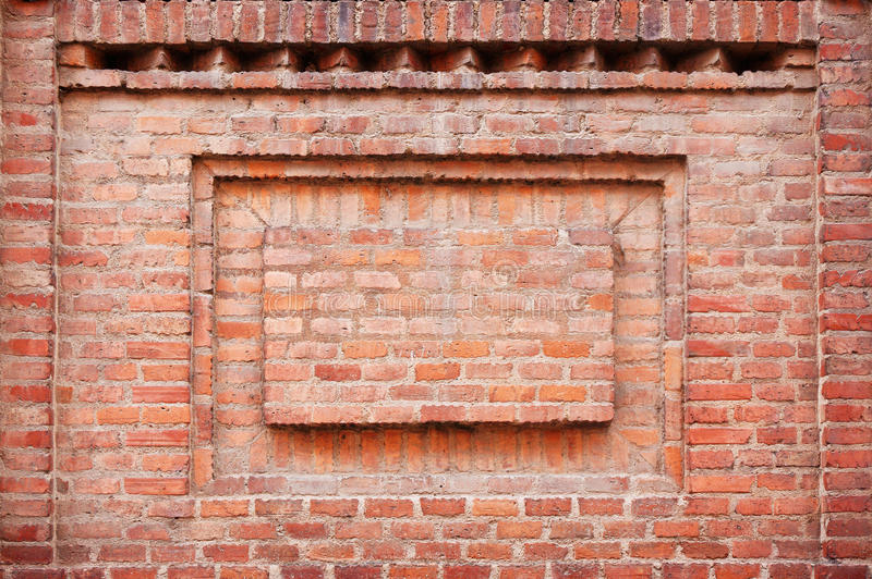 Download Brick Wall Frame stock photo. Image of blank, copy, design - 33930562