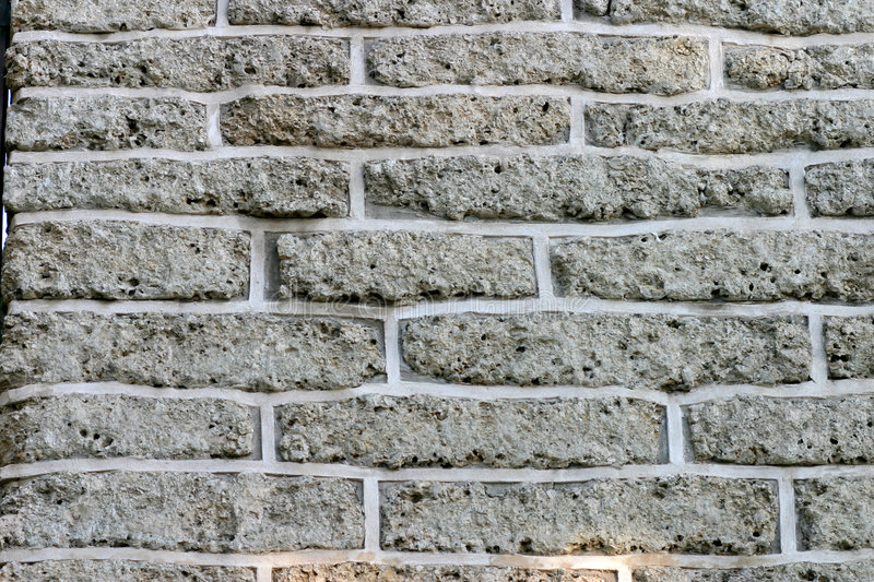 Download Brick Wall With Gray Bricks For Background Stock Photo - Image: 1626