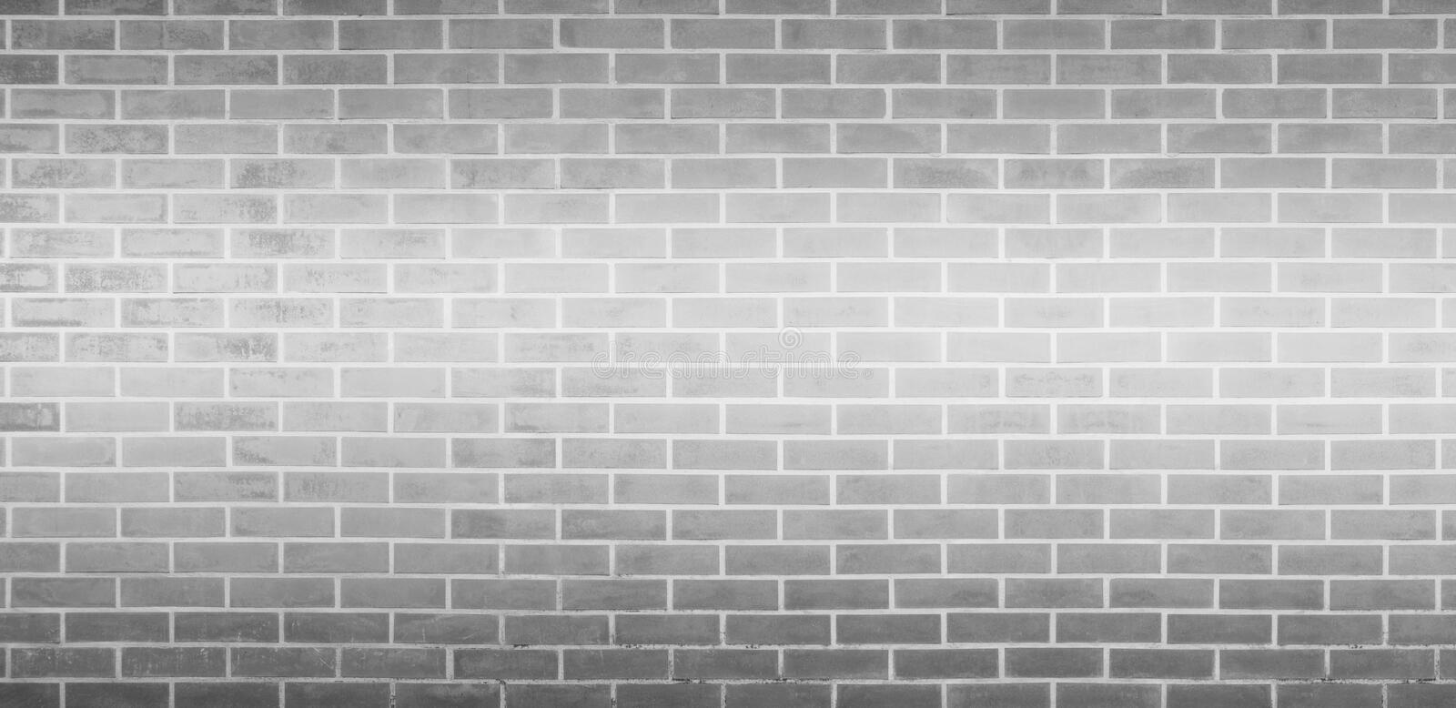 Brick wall, Gray white bricks wall texture background for graphic design royalty free stock photography
