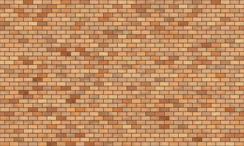 Brick wall high resolution seamless texture stock photography
