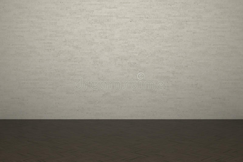 Download Brick Wall And Laminate Floor Stock Illustration - Image: 33462258