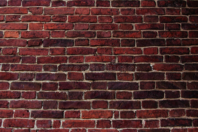 Download Red Brick Wall Stock Image Of Dark Bricks Brickwall