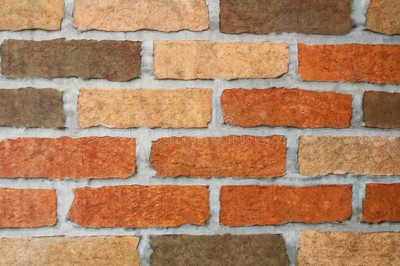 Brick wall paper royalty free stock images