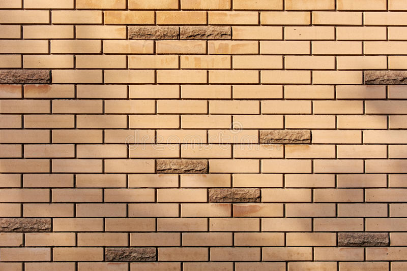 Brick wall pattern royalty free stock images