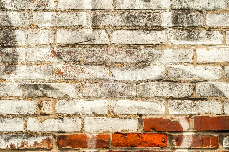 Brick wall patterns textured background royalty free stock photos