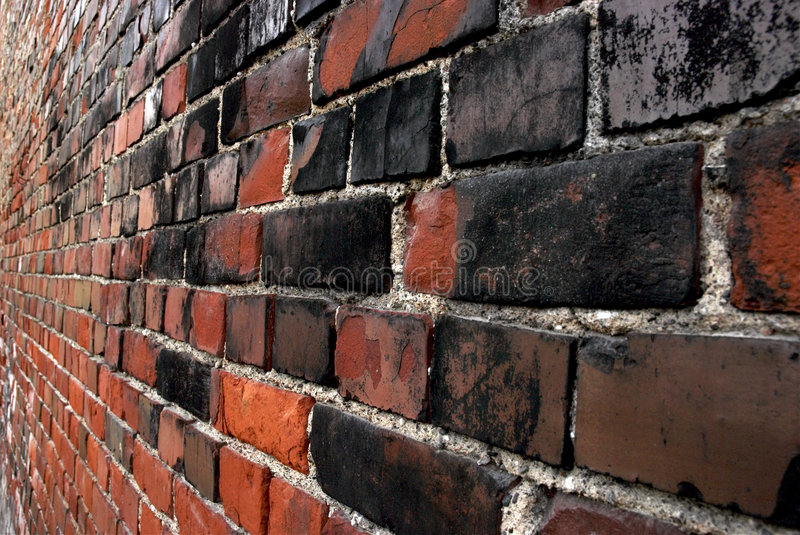 Brick Wall And Prospect Stock Image
