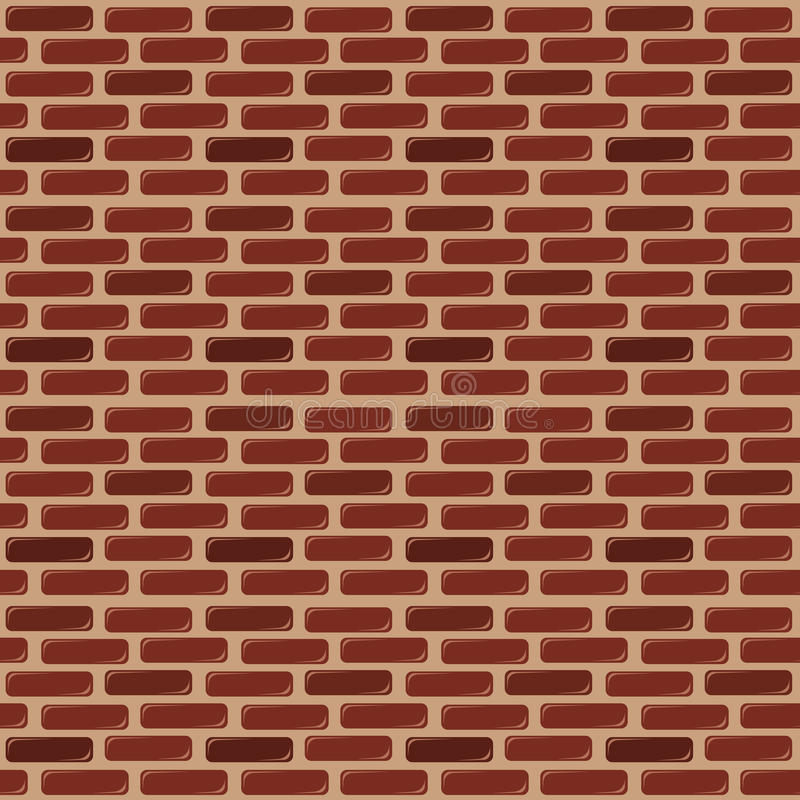 Download Brick Wall Seamless Background Stock Vector - Illustration of built, repeating: 10967710