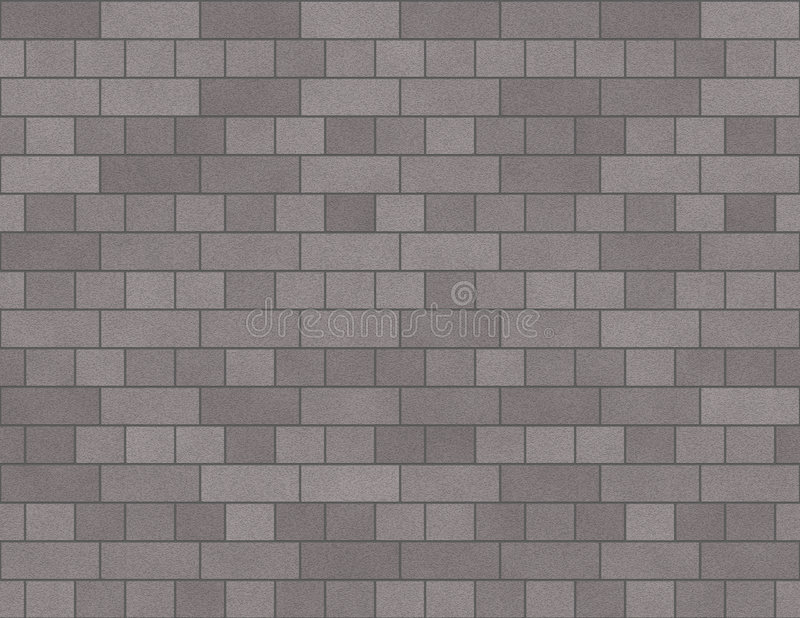 Brick Wall Seamless Background Small Bricks In Grey royalty free illustration