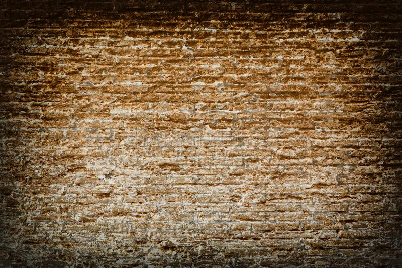 Brick wall texture background. Vintage grunge architecture or interior design abstract texture royalty free stock images