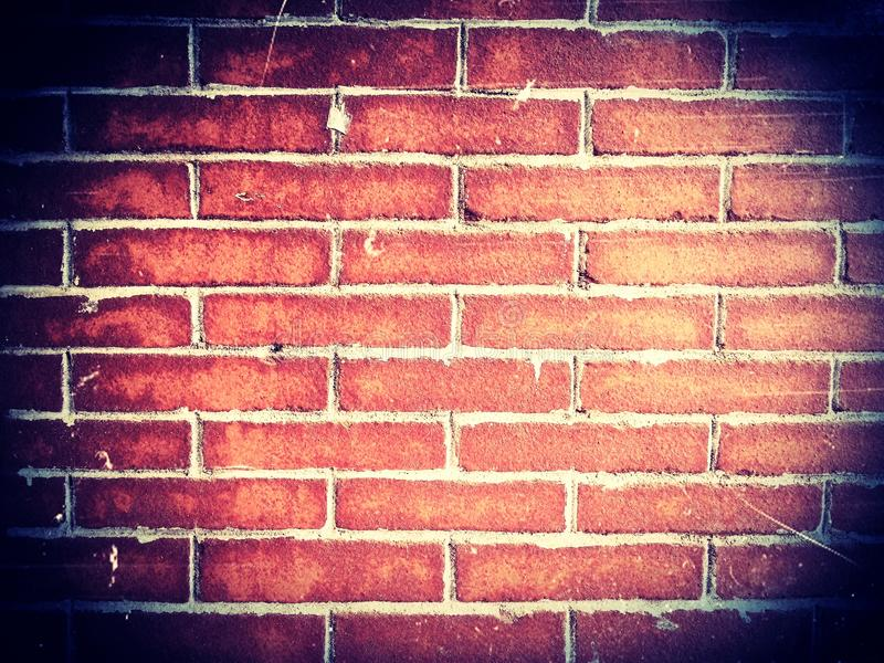Brick wall texture grunge background. And wallpaper royalty free stock images