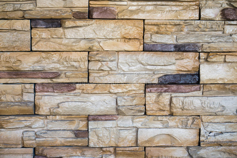 Brick Wall Texture In Modern Style Brown Color Coffee Shop Exterior Stock Image Image Of