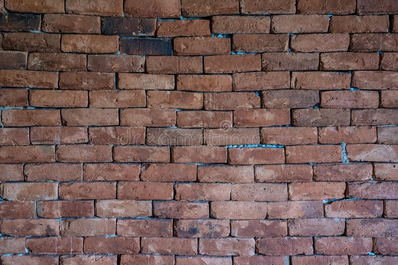 Brick wall texture old vintage background style royalty free stock image