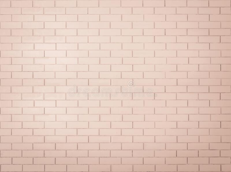 Brick wall tile texture background painted in red brown color.  royalty free stock images