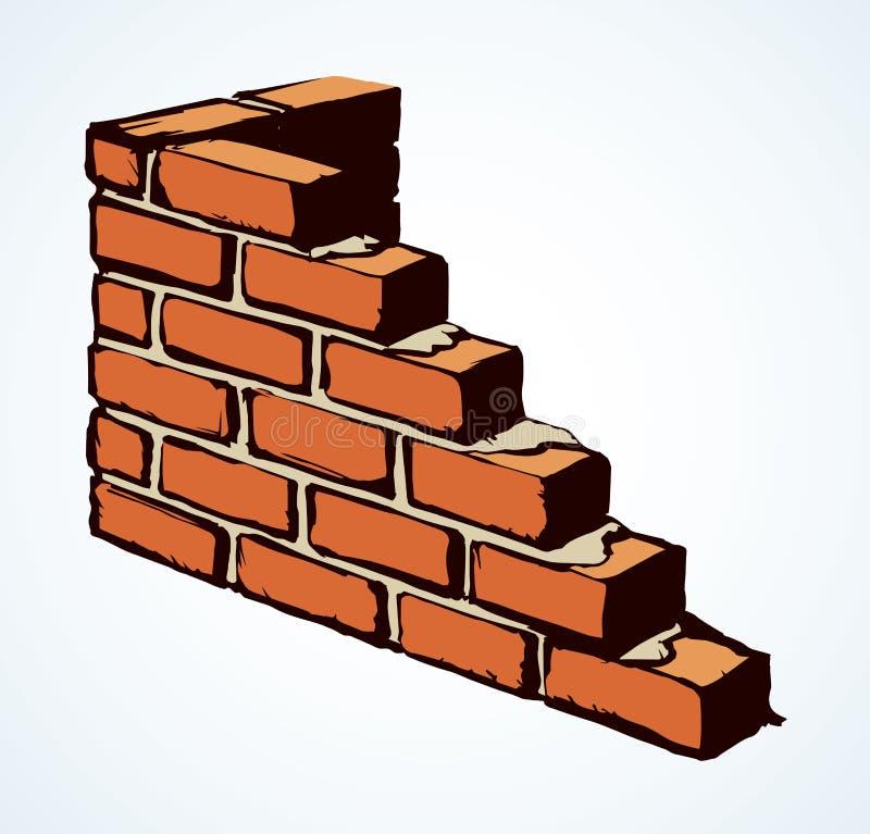 Free Brick Wall. Vector Drawing Pattern Stock Image - 159270201