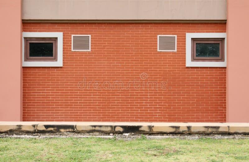 Brick wall and Ventilator stock photos