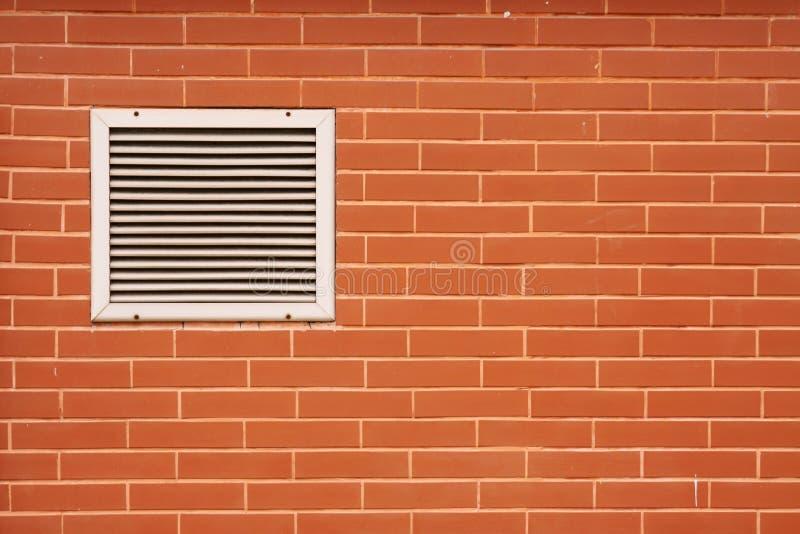 Brick wall and Ventilator royalty free stock photos