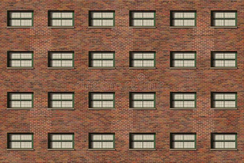 Brick wall- vintage frame stock images
