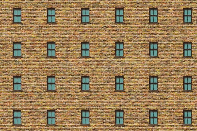 Brick wall- vintage frame stock photos