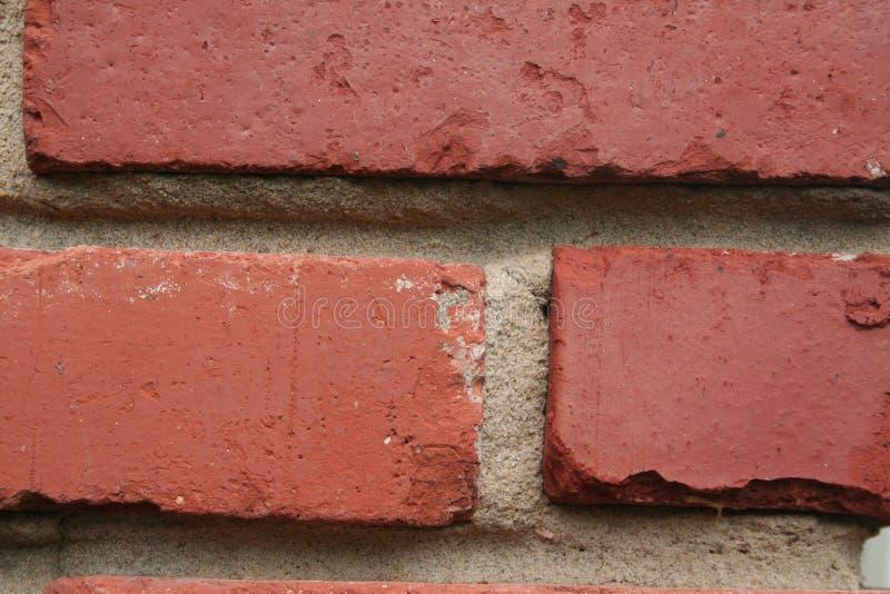 Brick wall, weathered stock image