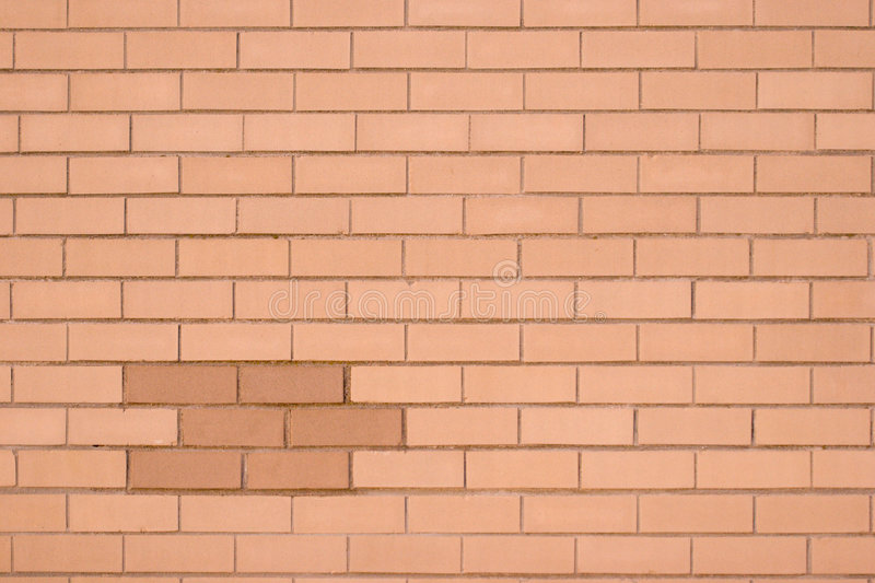 Download Brick wall yellow stock image. Image of ochre, mistake - 560465