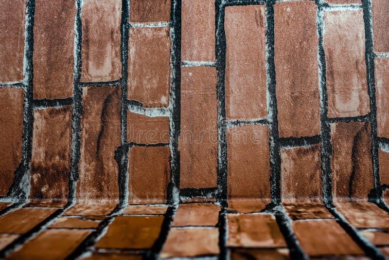 Brick walls. Shooting location :  Yokohama-city kanagawa prefecture stock images