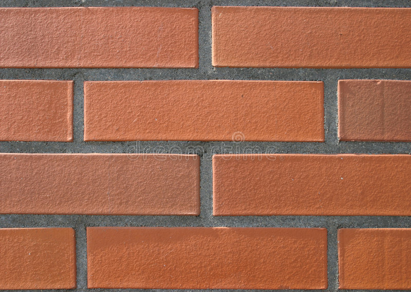 brick wyraźny ściany obrazy stock
