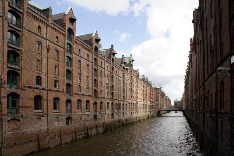 brick zbudowane speicherstadt obrazy royalty free