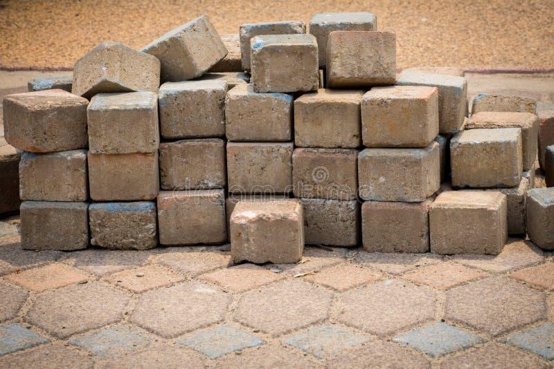 brickbat fotografia stock