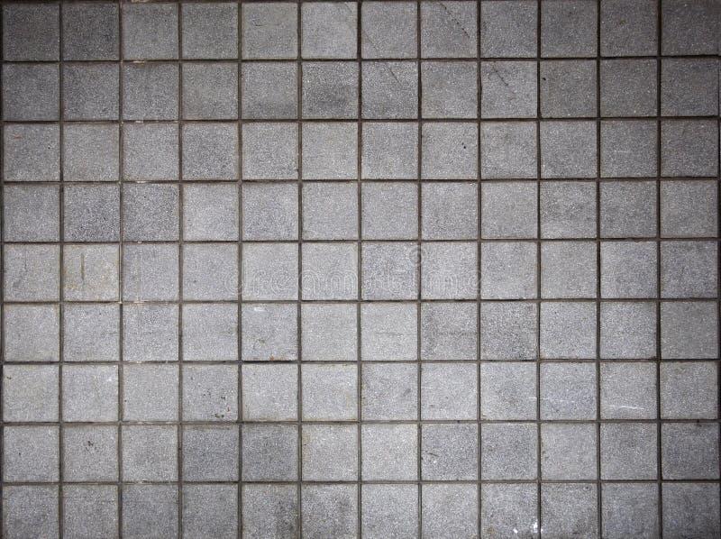 Bricked серая стена Стоковая Фотография