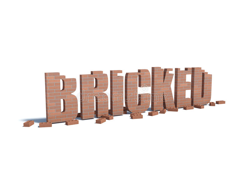 bricked royalty illustrazione gratis