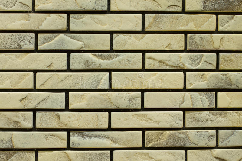 Bricked wall. Full frame of bricked wall royalty free stock image