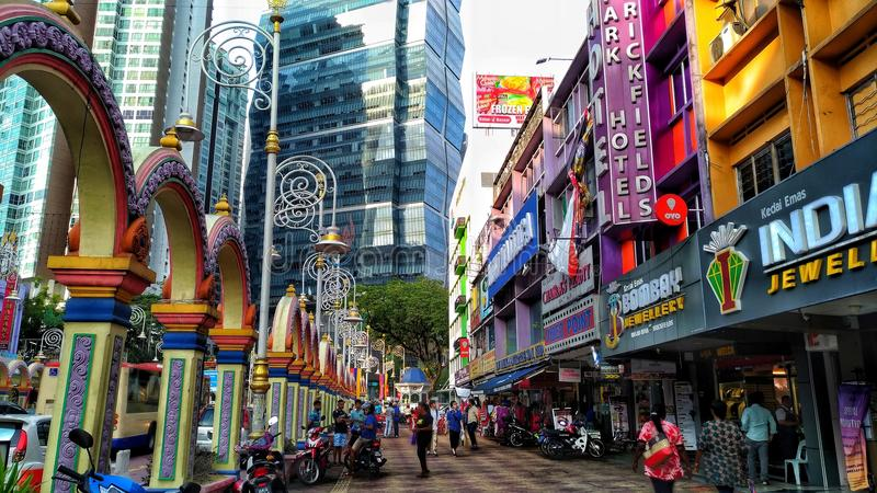 Little India royalty free stock image