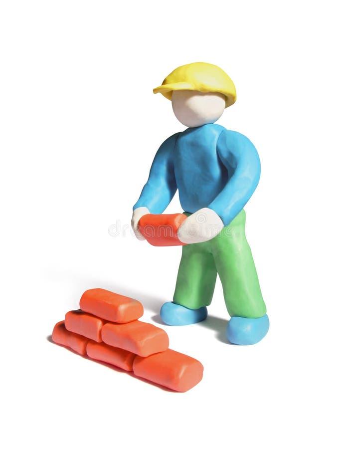 bricklayer стоковое фото