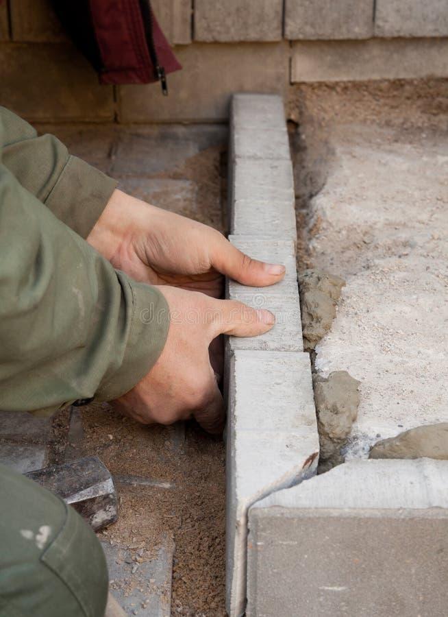 bricklayer стоковая фотография rf