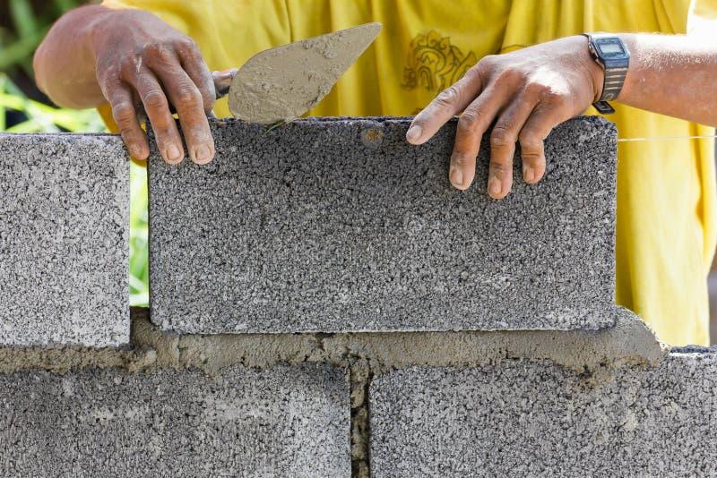Bricklayer стоковая фотография