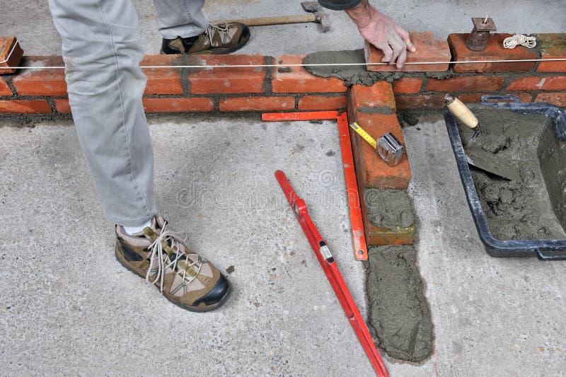bricklayer 3 стоковое фото rf