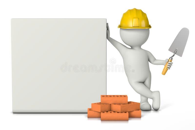 Bricklayer vector illustration