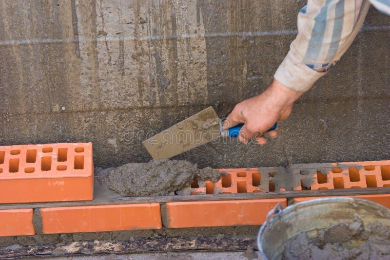 bricklaying стоковые фото