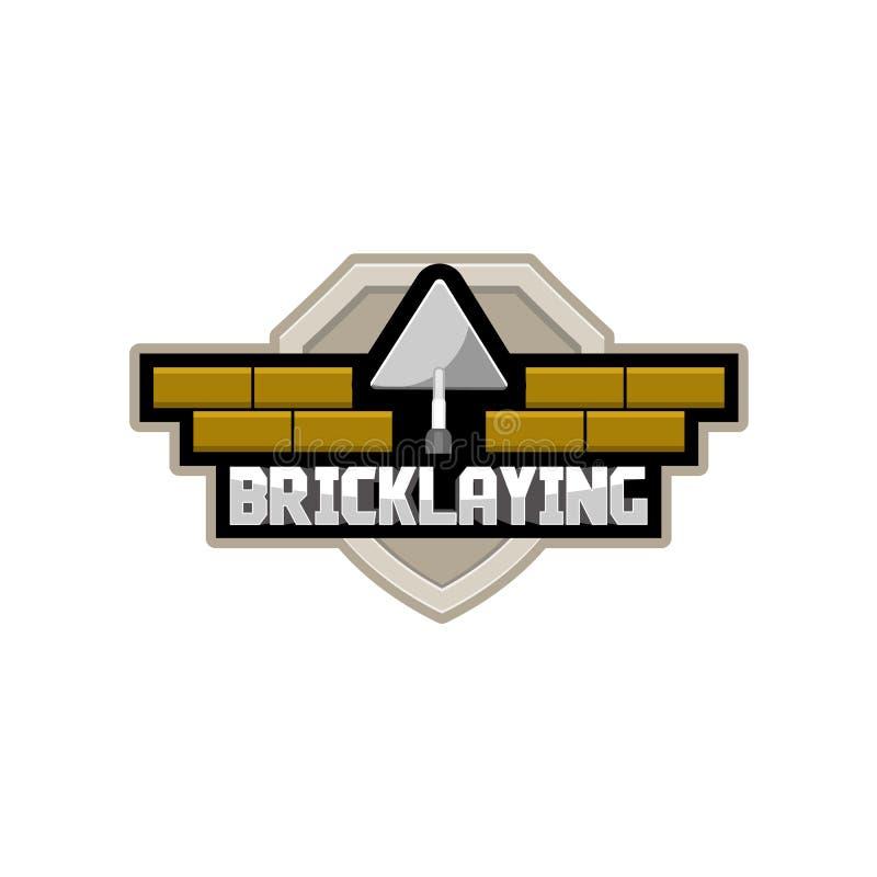 Free Bricklaying Company Logo Stock Photo - 77062280