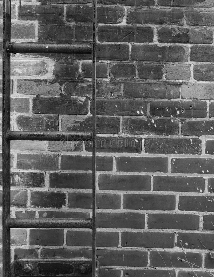 The Bricks and the ladder royalty free stock image