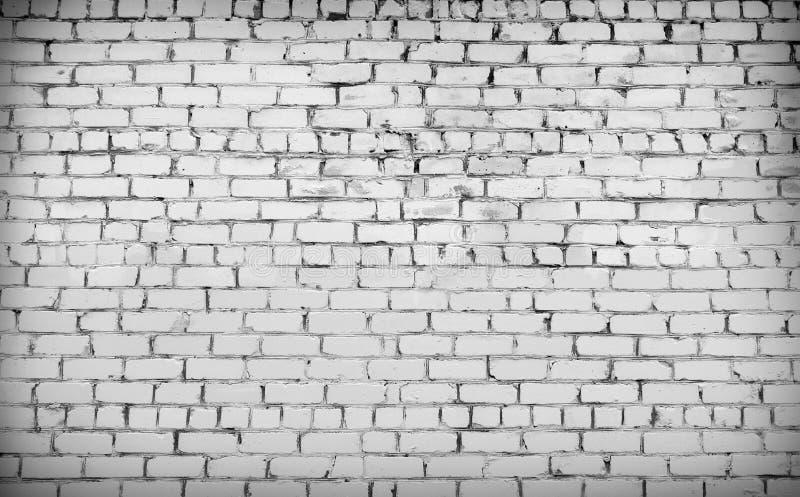 Download Bricks Painted White, Vignette. Stock Image - Image: 89782781