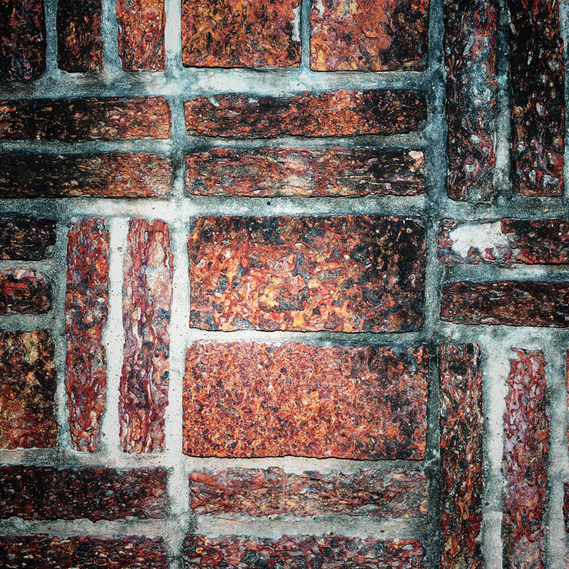 Bricks texture. Old red bricks texture, background royalty free stock photography